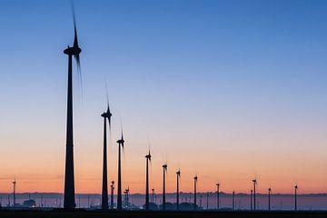 Windturbines Eemshaven von Jurjen Veerman
