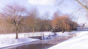 Winterse vijver van Masselink Portfolio