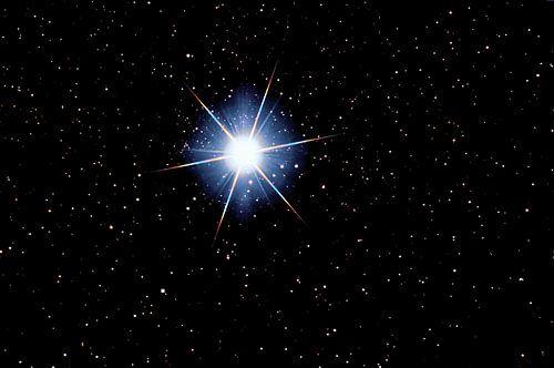 Stern Sirius - Alpha Canis Majoris von