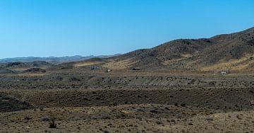 Iran: Landschap tussen Saveh en Taqarud van Maarten Verhees