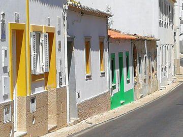 Albufeira town van Marc Struik