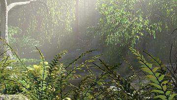 The Forest Awakening van Wybe van der Veen