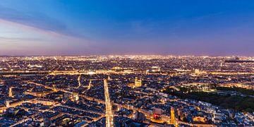 Parijs bij nacht van Werner Dieterich