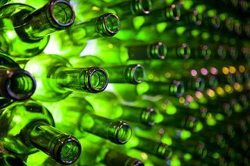 Grüne Flaschen von Ester Ammerlaan
