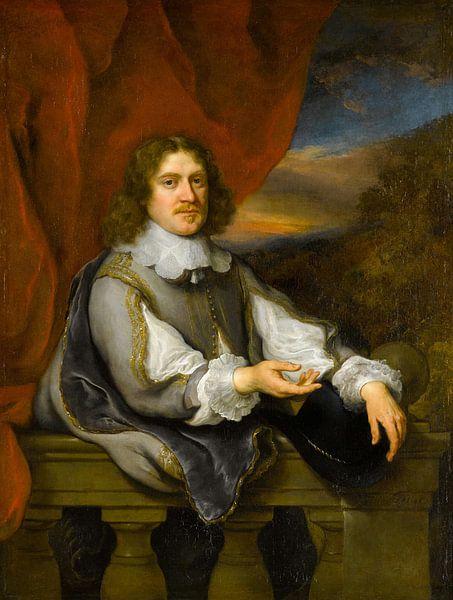 Portrait d'un gentleman (Jan van Hellemont ?), Govert Flinck sur Meesterlijcke Meesters