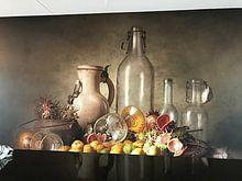Klantfoto: Stilleven 48 van Ron jejaka art, als behang