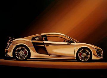 Audi R8 2007 Gemälde von Paul Meijering