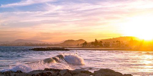 Malaga sunset - Malaga - Andalusie, Spanje