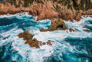 Rugged Coastline Of Corsica van Rene Jacobs