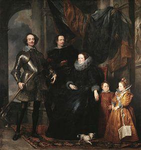Die Familie Lomellini, Antoon van Dyck