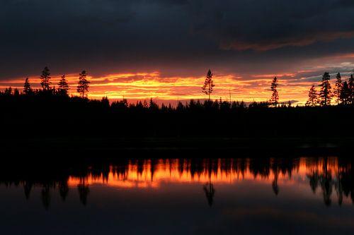 Schwedisch Wasser und Feuer von @ GeoZoomer