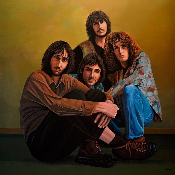 The Who schilderij van Paul Meijering