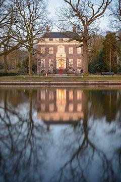 Rathaus Goudestein in Maarssen (in der Nähe von Utrecht) von Michel Geluk