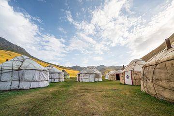 Yurt kamp nabij Tash Rabat van Mickéle Godderis
