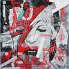 """David BOWIE """"47"""" von Kathleen Artist von Kathleen Artist Fine Art Miniaturansicht"""