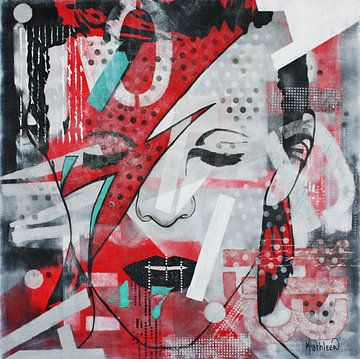 """David BOWIE """"47"""" door Kathleen Artist van Kathleen Artist Fine Art"""