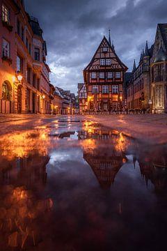 Vakwerkhuizen in Quedlinburg van Manuuu S