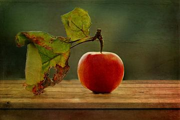 Apfelstillleben van Heike Hultsch