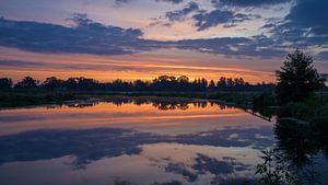 Mittlerer Regge im Morgengrauen von Laurents ten Voorde