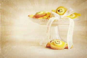 Lächelnde Plätzchen von Heike Hultsch