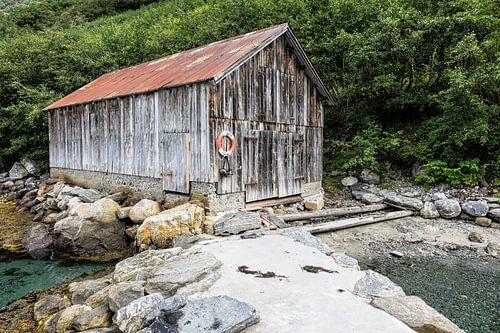 Boatshouse on the Storfjord