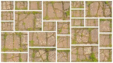 Collage de carreaux fissurés