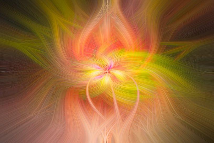 Digital abstract nr. 11 van Leo Luijten