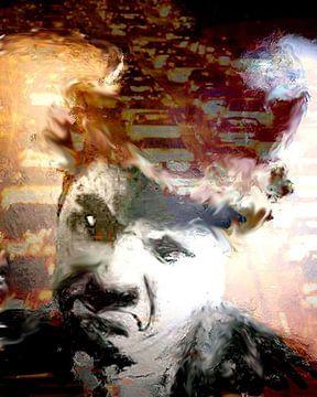 Chaplin Frown Charlie Chaplin Pop Art von Leah Devora