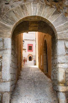 Porte de la ville d'Ibiza sur Mark Bolijn