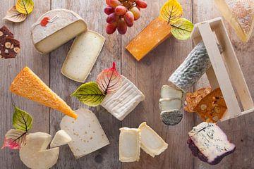 Eigentijdse weergave voor kaasplankje van Henny Brouwers