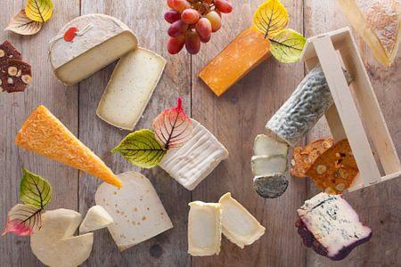 Moderner Vitrinen für Käseplatte