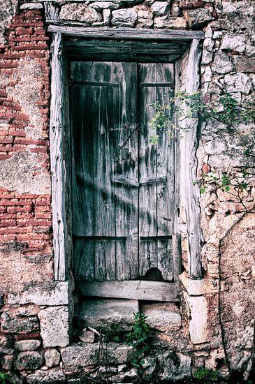 Verweerde deur