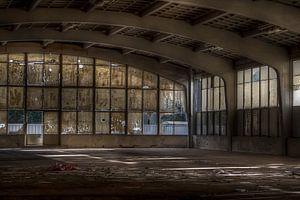 De chocoladefabriek (Urbex) van Eus Driessen