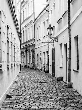 Altstadt von Prag, schwarzweiß von Katrin May