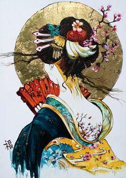 """Japanischer Traum 2 von Janny Schilderink......Atelier """"de Tuute """""""
