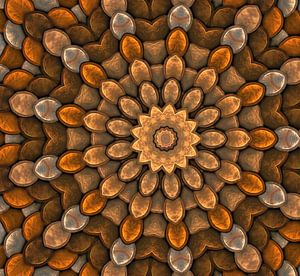 kaleidoscoop Brons van