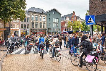 Fietsen in Groningen van Evert Jan Luchies