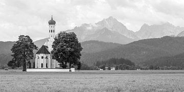 St. Coloman Kirche in Schwangau von MS Fotografie | Marc van der Stelt