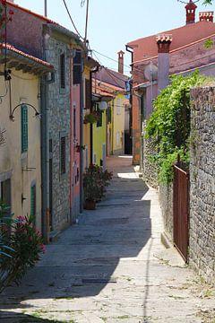Wandel door een stad van kleur von Luca Claes