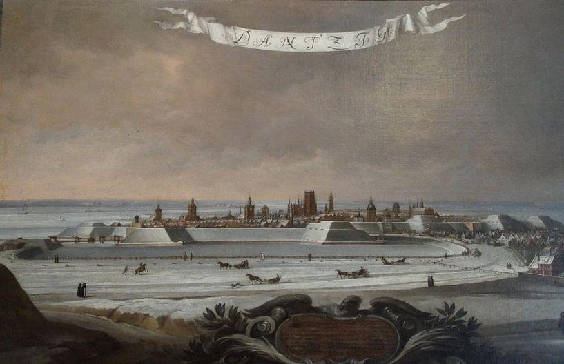 Danzig - Altes Gemälde von Maurits Bredius