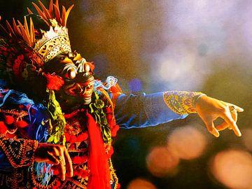 Danseur de Barong sur Eduard Lamping