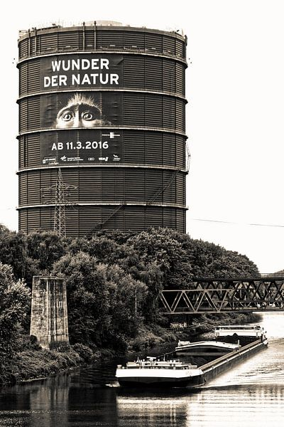 Gasmeter Oberhausen (7-150732) B+W van Franz Walter