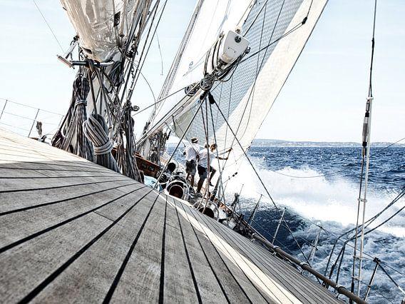 Zeilen op zee van Anouschka Hendriks
