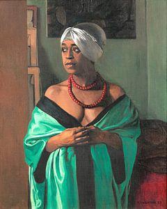 Aicha, Felix Vallotton 1922