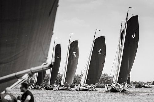 Admiraalzeilen Friese skutsjes van ThomasVaer Tom Coehoorn