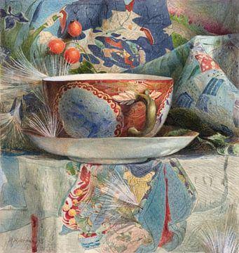 Stilleben Teetasse ca. 1876 von Rudy & Gisela Schlechter