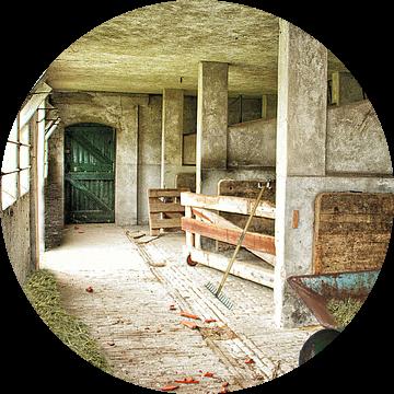 oude schuur van Elly Wille-Neuféglise