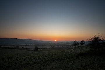 Sonnenaufgang am frühen Morgen von Thom de Steenhuijsen Piters
