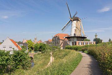 View over Willemstad sur Charlene van Koesveld