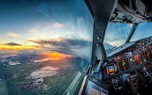 Sonnenaufgang über Vinkeveen von Martijn Kort